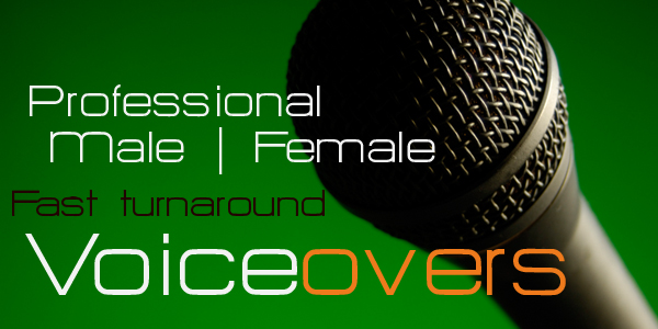 professional radio voiceovers